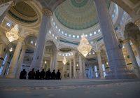 Величие мечети Хазрет Султан