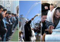 ВОЗ рекомендует Рамазан, Пасху и Песах проводить на открытом воздухе