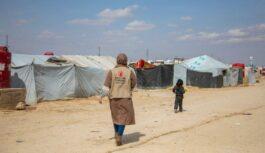 Save the Children: Один день социального работника в Al Hasakah и Al Hol