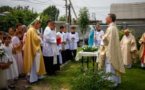 Католической общине Кыргызстана 50 лет